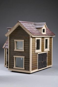 Doll House   American, mid-late 19th century