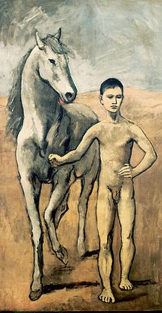 Picasso's Rose Period ~ Boy Leading a Horse, 1906,