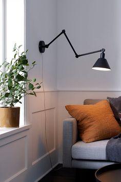 Ellos Home Vägglampa Oxford - Svart - Hem & inredning - Ellos.se