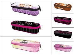 Pencil cases/ Školní penály Pencil Cases, Louis Vuitton Damier, Lunch Box, Pattern, Bags, Design, Handbags, Pencil Boxes, Patterns