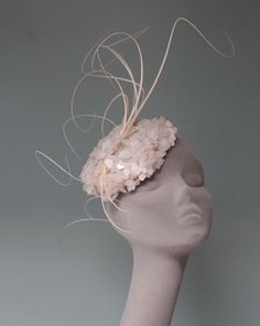 12763e56beac67 Hat by milliner Jane Taylor. See more. If only it were socially acceptable  to wear these out! :) Sinamay Hats,
