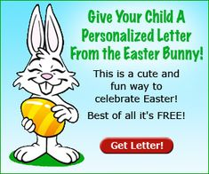 print a letter from the easter bunny familytimecom - Fun Letters To Print