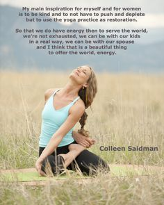 Stream Colleen Saidman and Rodney Yee Yoga classes online at GaiamTV.com