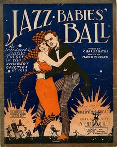 F. Scott Fitzgerald, The Beautiful and Damned, 1922; sheet music above from 1920