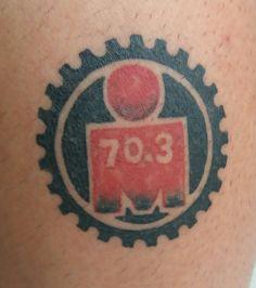 Tatuagem Ironman 70.3