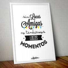 www.mugnificas.es Tazas y láminas para regalar. Diseños originales. Frases con diseño. Holidays And Events, Gifts For Friends, Ideas Para, Diy Gifts, Diy And Crafts, Birthday Gifts, Valentines, Scrapbook, Letters