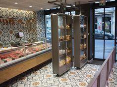 Butcher Store, Local Butcher Shop, Meat Butcher, Shop Interior Design, Retail Design, Store Design, Restaurant Concept, Cafe Restaurant, Commercial Kitchen Design