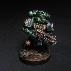 Dark Vengeance Salamanders Tactical Space Marine | Flickr - Photo Sharing!