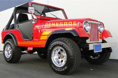 In Part 3 of Best of Barrett-Jackson series we take a closer look at 13 Jeeps, from Willys to Wranglers, that will hit the auction block next week. Red Jeep Wrangler, Jeep Wrangler Renegade, Jeep Willys, Badass Jeep, Vintage Jeep, Cool Jeeps, Jeep Accessories, Jeep Truck, Sports