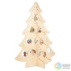 Креативные и необычные дизайнерские елки своими руками!