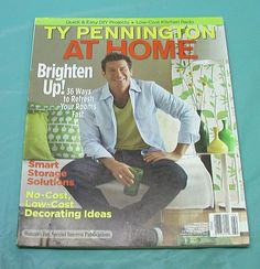 2010 Ty Pennington At Home Magazine Woman's Day Storage Low Cost Decorate Ideas