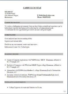 Divya bhagatdivyabhagat197 pinterest academic cv sample free download excellent curriculum vitae resume with career objective job profile yelopaper Gallery