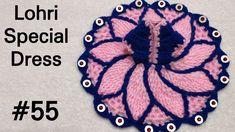 How to Crochet Lohri Special Dress for Laddu Gopal / Kanhaji (all si. Crochet Doll Tutorial, Diy Crochet, Crochet Motif, Diy Cushion Covers, Laddu Gopal Dresses, Diwali Craft, Newborn Crochet, Special Dresses, Fabric Jewelry