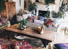 Boho Lifestyle 5Boho Living Room Ideas The idea of the bohemian style is to come up with a living room that defines you as an individual and not just a streamline home. A boho living room gives yo…