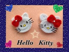 HELLO KITTY HECHO CON LIMPIA PIPAS.- PIPE CLEANER HELLO KITTY . - YouTube