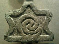 Caracol, tallado en piedra, sala mexica, MNA.