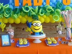Minions Birthday Party Ideas | Photo 4 of 39 | Catch My Party