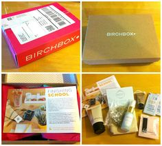 @birchbox  August Box, full of great beauty products!