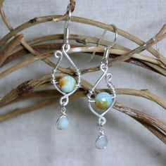 Blissful Hope Amazonite and Sterling Silver by CammieLaneJewelry