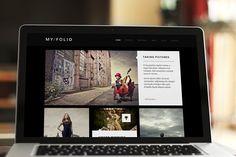 My Folio – One-Page Portfolio HTML5 by weibergmedia on @creativemarket