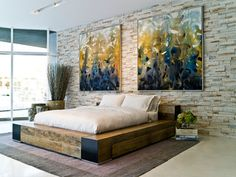 Edge Bed - Contemporary - Bedroom - los angeles - by Environment Furniture
