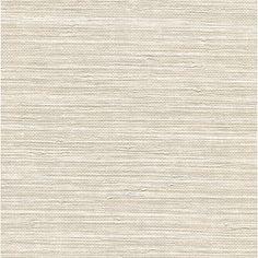 "Brewster Home Fashions Warner Keisling Faux Grasscloth 0.67' x 10"" Solid Wallpaper | Wayfair"