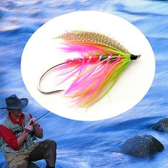 Winter Spey Winter Punch Spey Fly - 3 Flies Tied by NicksFlyFishing, for $10.95