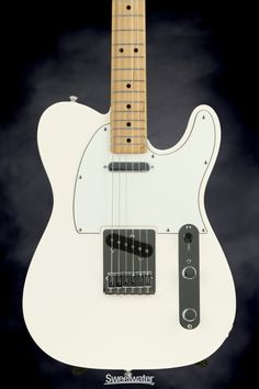 Fender Standard Telecaster - Arctic White, 7 lbs 13 oz   Sweetwater.com