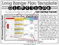 Mrs Rus S Room Long Range Plans For First Grade Lesson Plan