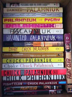 My sweet dream... Collection of Chuck Palahniuk