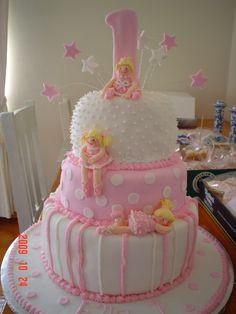 Pink Ballet Girls Cake