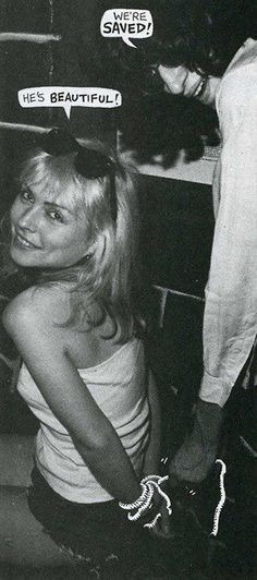 Debbie and Joey Ramone