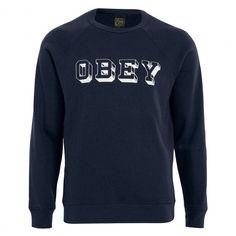 OBEY University sweat crew mood indigo washed 69,00 € #obey #sweat #sweatshirt #hoodie #hoody #hoodies #sweatcapuche #skate #skateboard #skateboarding #streetshop #skateshop @playskateshop