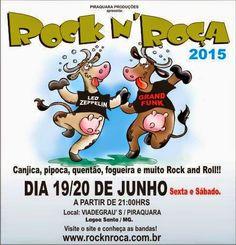 Lêda Rocker: Rock N' Roça  vem ai!!!