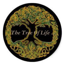 The Tree Of Life Round Sticker