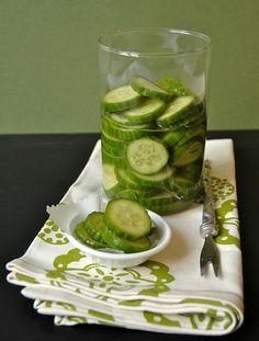 Momofuku cucumber pickles