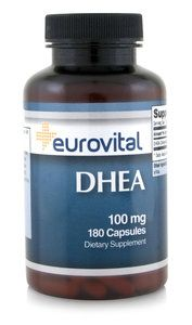 DHEA 100mg 180 Capsules  	              -          specialist in voedingssupplementen