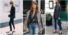 12 paires de boots blanches ultra tendances à tous les prix - L'officieux Tartan, Inspiration Mode, Mom Jeans, Blazers, Duster Coat, Dit, Pants, Jackets, Style
