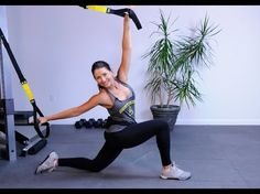 TRX Fullbody #5 - Get YOUR Legs RIPPED, Arms and Core Strength Training - YouTube