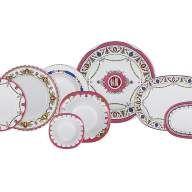 Сервиз столовый форма Европейская-2 рисунок Камеи, 6 персон 24 предмета