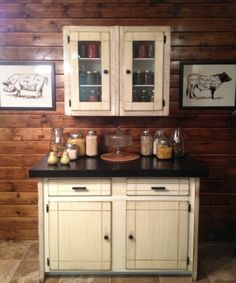 Love the designs.. Also has a picture where just added trim to the cabinets to give character....
