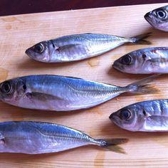 May 21th dinner. small horse mackerel befor NANBAN-ZUKE. It's called MAME-AJI in japan.