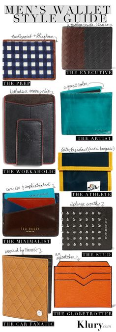 MEN'S WALLET STYLE GUIDE