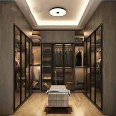 Master Closet Design, Walk In Closet Design, Wardrobe Room, Wardrobe Design Bedroom, Sliding Wardrobe, Dressing Room Closet, Dressing Room Design, Luxury Wardrobe, Luxury Closet