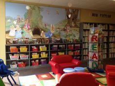 Children's department at the scottsboro public library