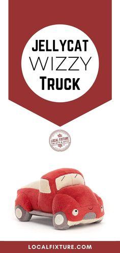 Jellycat Wizzy Truck