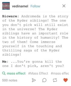 Alot of unanswered questions. if they kill jaal I'm gunna have a massive bitch fit Mass Effect Funny, Mass Effect 3, Bioware Games, Funny Games, It's Funny, My Fantasy World, Say More, Dragon Age, How To Relieve Stress