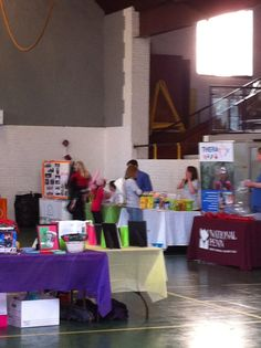 Tables at our family fun day #Autism