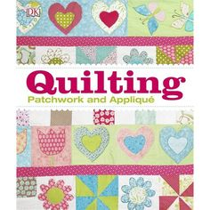 With over 40 projects to try your hand at, The Quilting Book is a craft book that will tell you everything you need to know about mastering quilting, patchwork and applique. Map Quilt, Book Quilt, Quilts, Beginning Quilting, History Of Quilting, Book People, Quilting For Beginners, Bargello, Hand Quilting