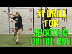 #1 LACROSSE DRILL for SHOOTING ON THE RUN - YouTube